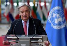 أمين عام المنظمة الدولية أنطونيو غوتيريش